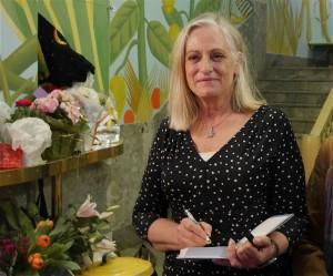 Doris på bokmässan