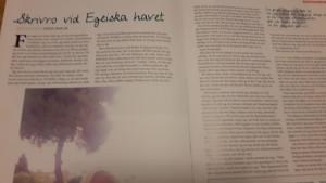 I senaste numret av tidskriften Klass
